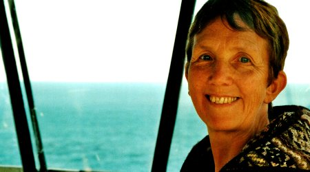 Image of Vera and Shetland creator Ann Cleeves