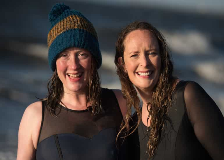 Image of Taking the Plunge: Anna Deacon and Vicky Allan