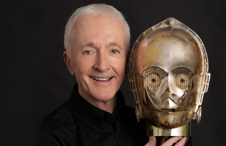 Image of Meet C-3PO: Anthony Daniels Signing
