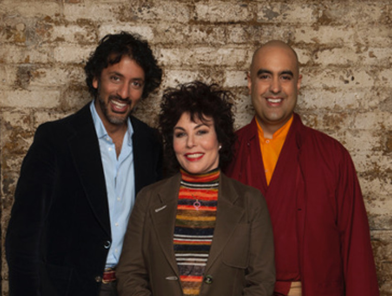 Image of Ruby Wax, a Monk and a Neuroscientist