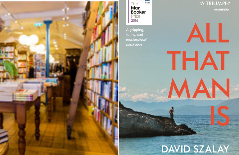 Image of September Reading Group – All That Man Is by David Szalay