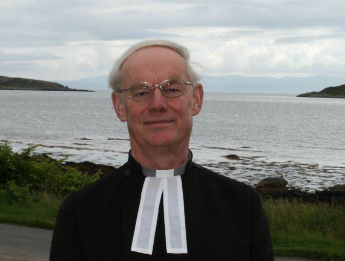 Image of Ian Bradley with Argyll