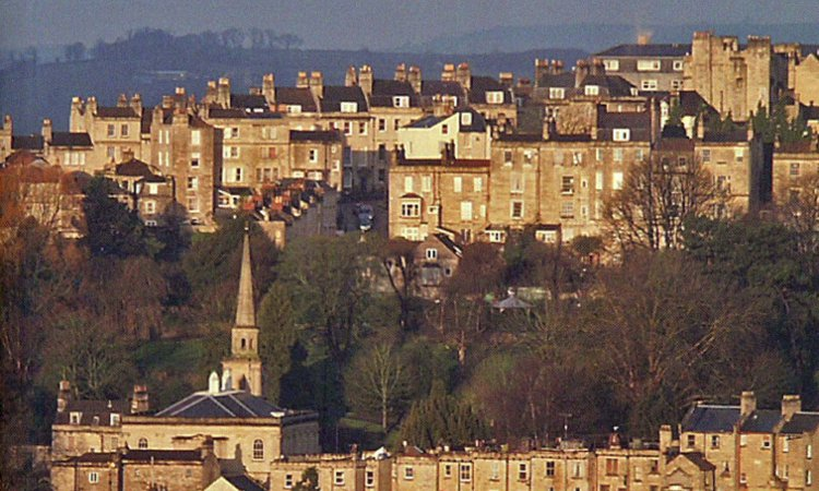 Image of Historic Bath Walk with Andrew Swift and Kirsten Elliot