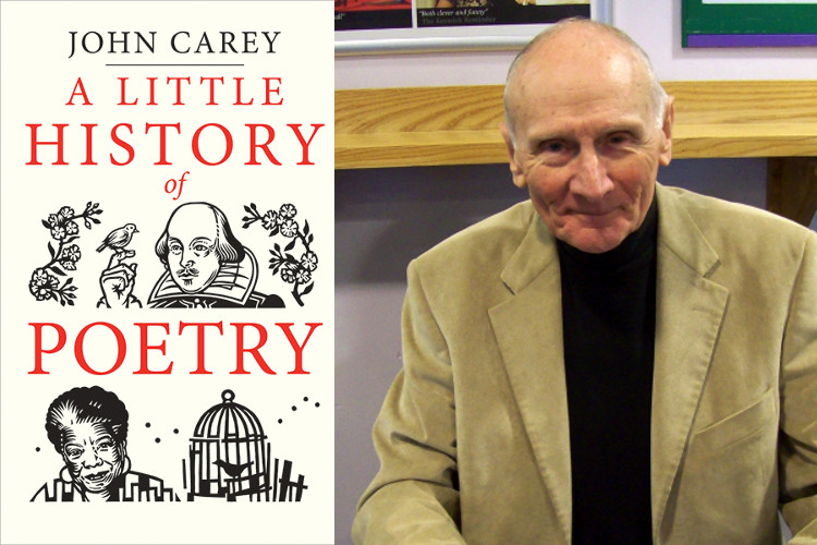 Image of John Carey on A Little History of Poetry