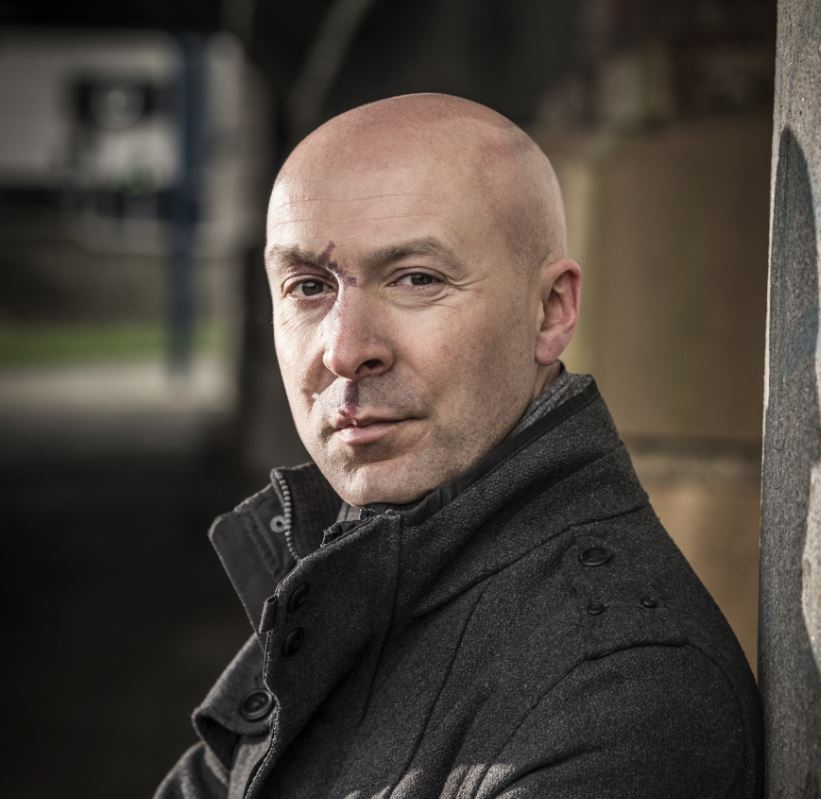 Image of Chris Brookmyre with Want You Gone