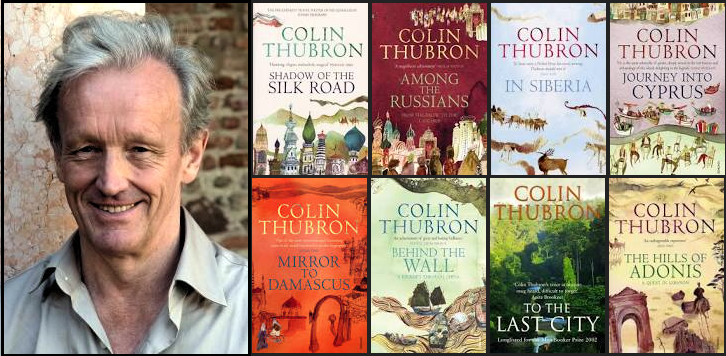 An Evening With Colin Thubron St Andrews Events Topping
