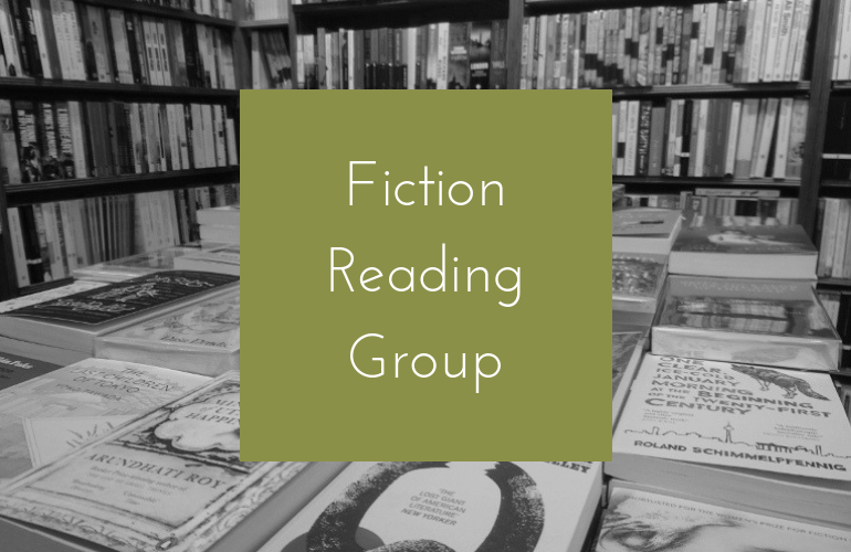 Image of April Fiction Reading Group