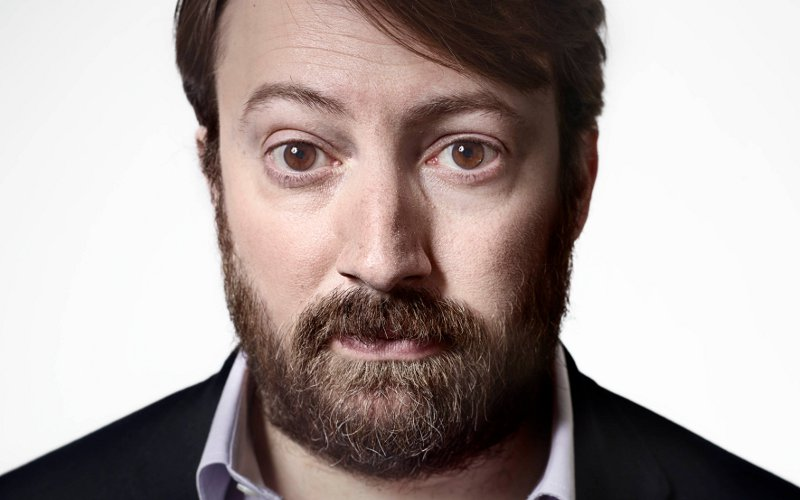 Image of Comedian David Mitchell