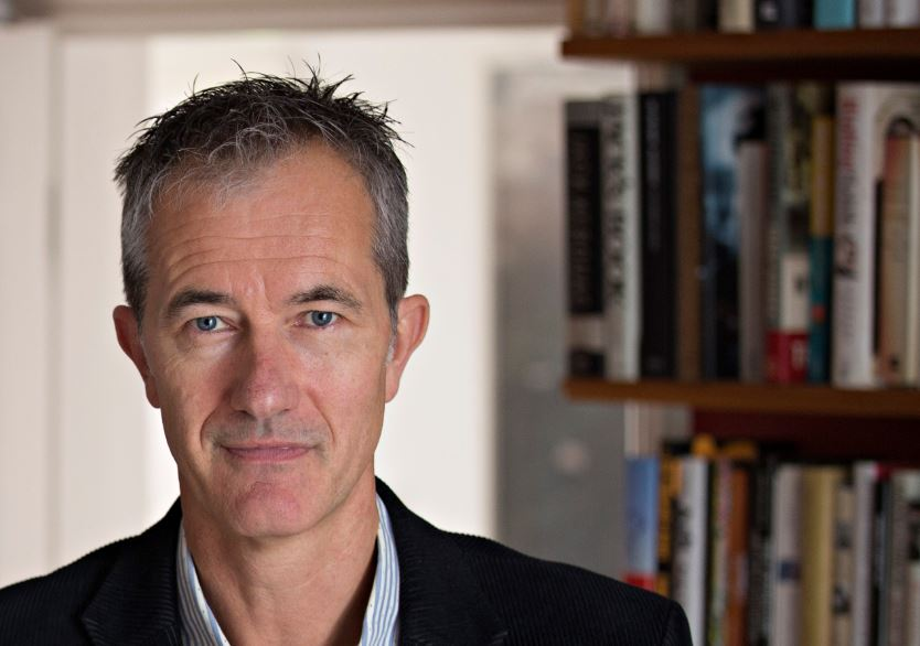Image of Geoff Dyer with White Sands