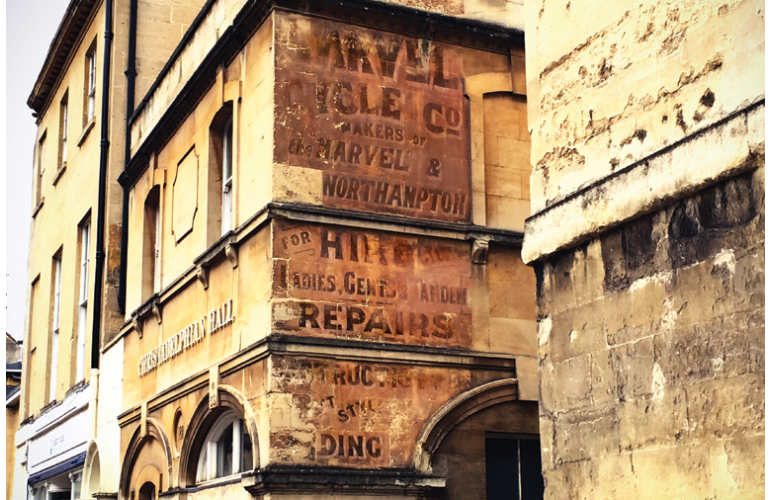 Image of Ghost Signs of Bath a Walk with Andrew Swift and Kirsten Elliot