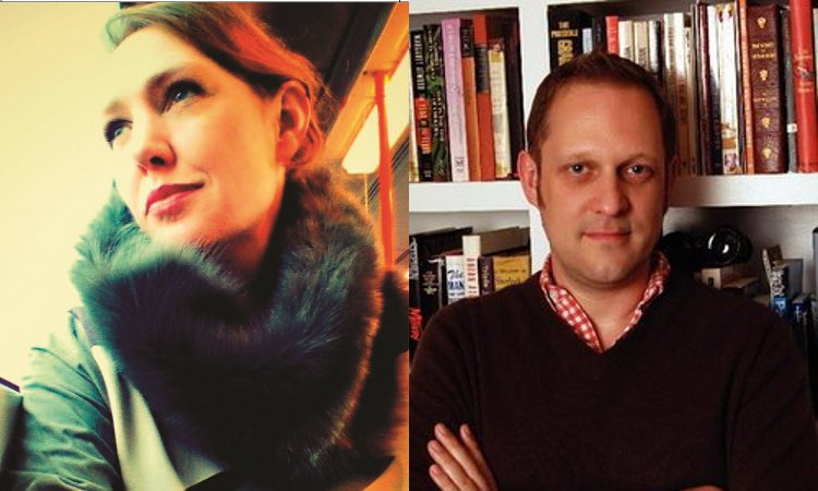 Image of Paula Hawkins and Peter Swanson
