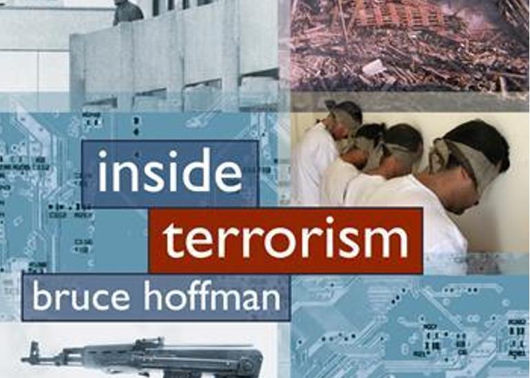 Image of Bruce Hoffman with Inside Terrorism