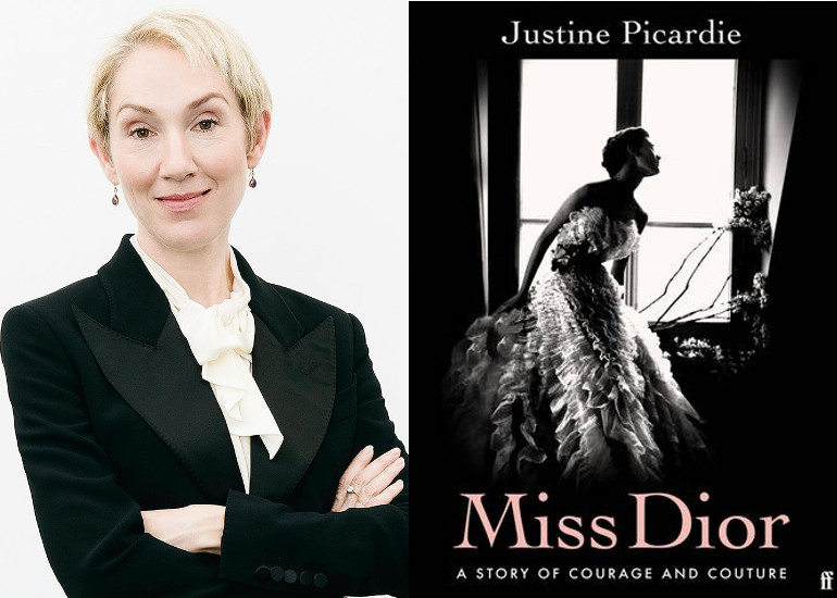 Image of Justine Picardie on Miss Dior: A Story of Courage and Couture