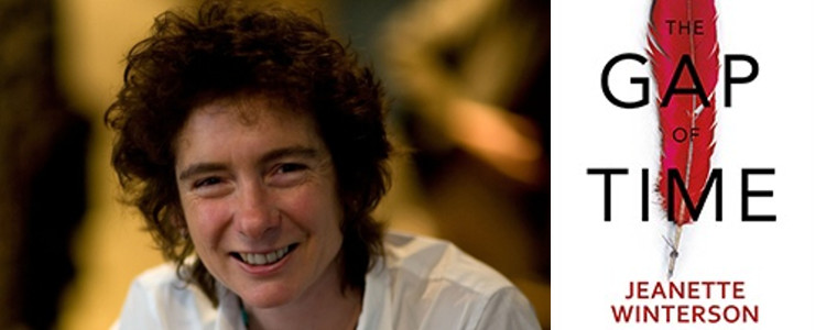 Image of Jeanette Winterson with The Gap of Time