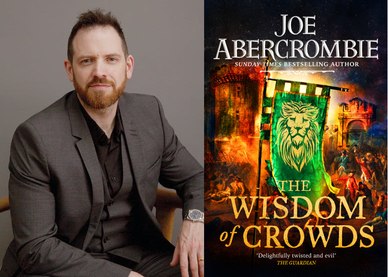 Image of Joe Abercrombie Book Launch of The Wisdom of Crowds