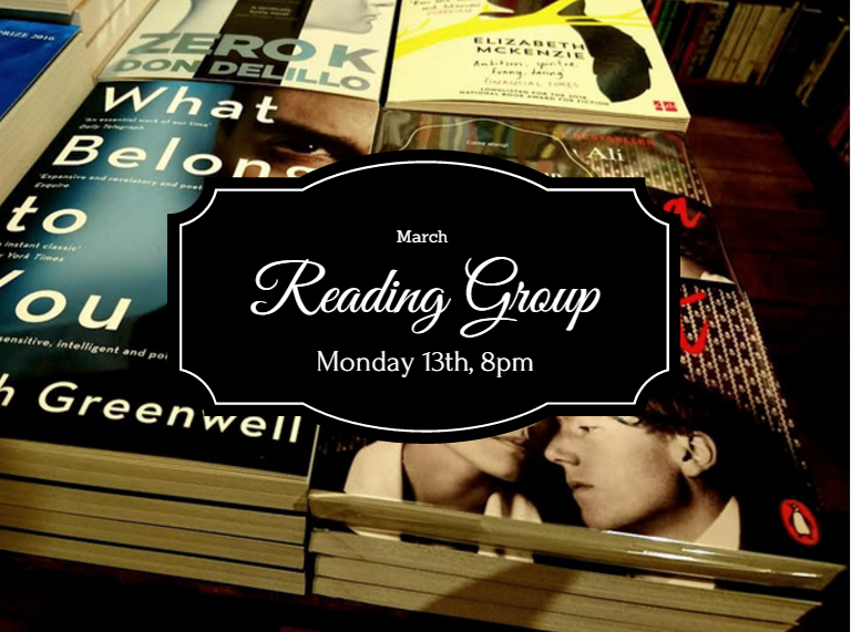 Image of March Fiction Reading Group