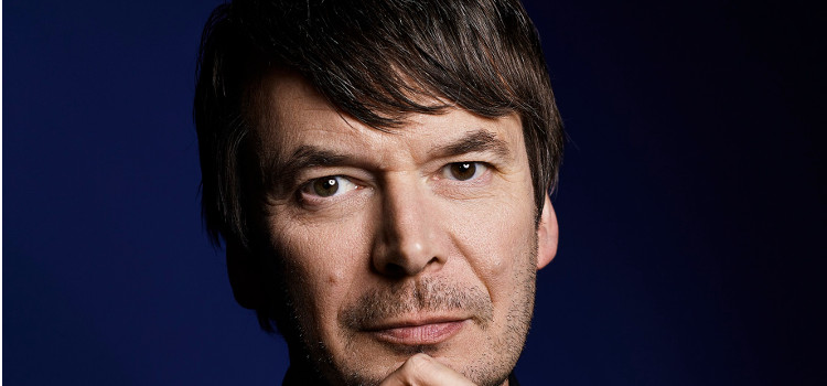Image of Ian Rankin with the Latest Rebus