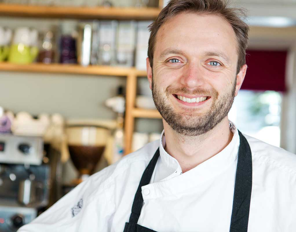 Image of Acorn Vegetarian Kitchen's Richard Buckley