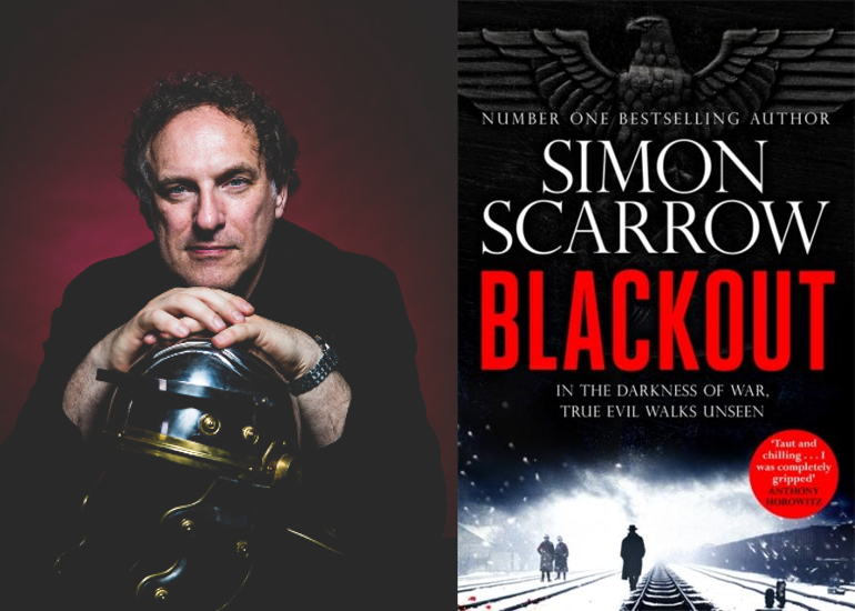 Image of Live In-Person: Simon Scarrow on Writing Historical & Crime Fiction