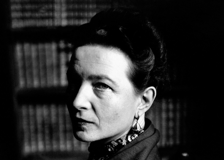 Image of Kate Kirkpatrick on Simone de Beauvoir
