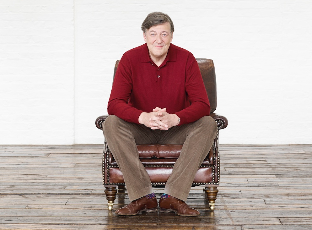 Image of A Night in with Stephen Fry – online event
