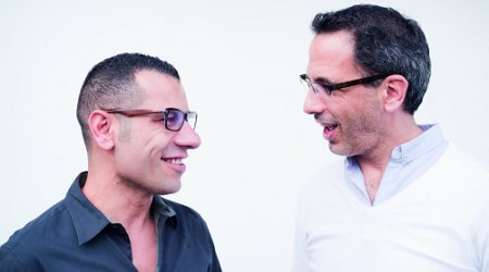 Image of Yotam Ottolenghi and Sami Tamimi Demo