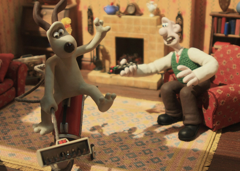 Image of Aardman Animations with Peter Lord and David Sproxton