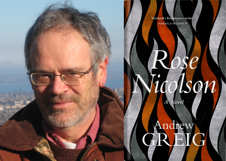 Image of Live In-Person: Andrew Greig