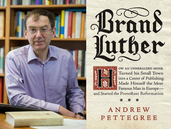 Image of Brand Luther with Andrew Pettegree