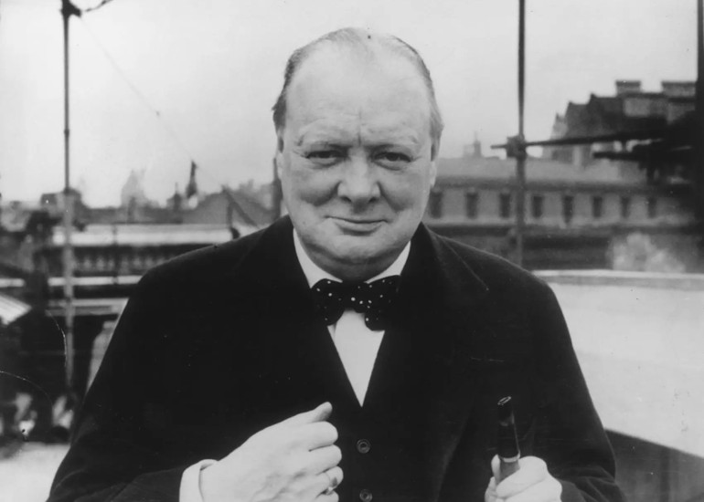 Image of NEW DATE: Andrew Roberts on Churchill