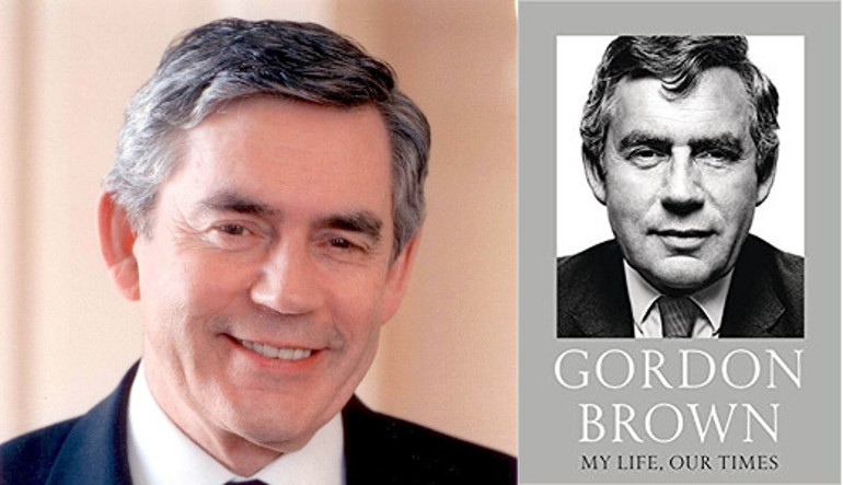 Image of Literary Lunch with Gordon Brown
