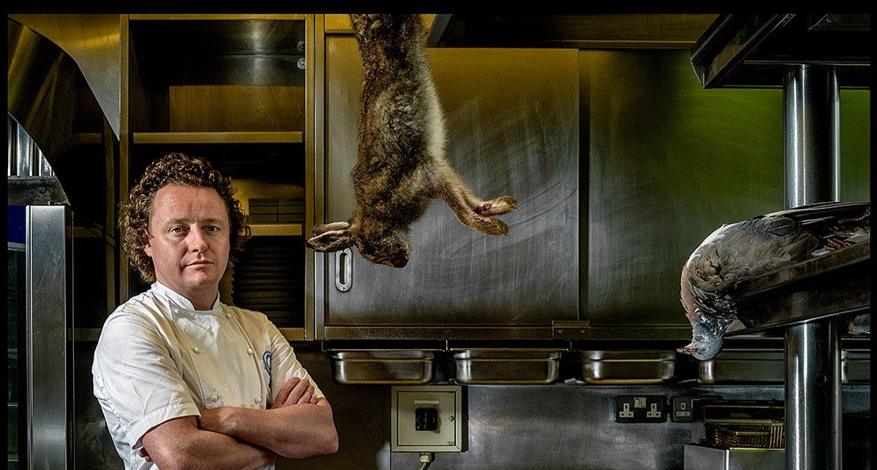 Image of Tom Kitchin with Meat and Game