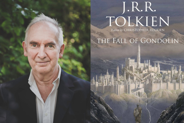 Image of Alan Lee on illustrating Tolkien