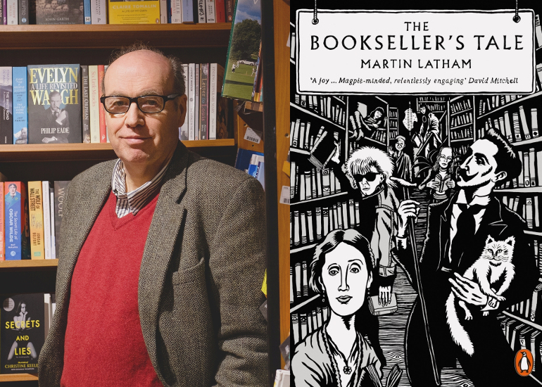 Image of Martin Latham on The Bookseller's Tale