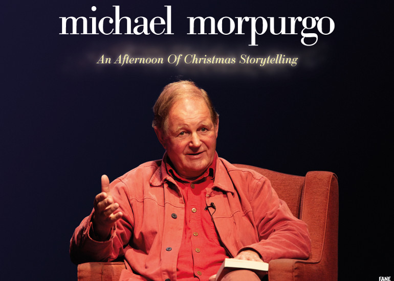 Image of An Afternoon of Christmas Storytelling with Michael Morpurgo – online event