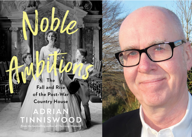 Image of Adrian Tinniswood on The Fall and Rise of the Post-War Country House