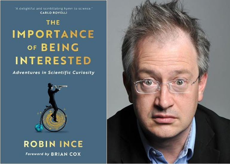 Image of Robin Ince on The Importance of Being Interested