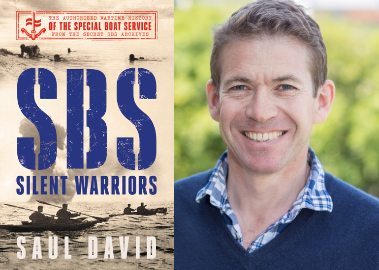 Image of Saul David on the history of the Special Boat Service