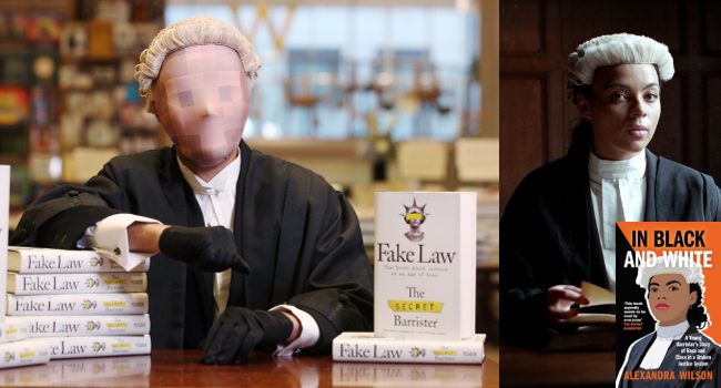Image of Secret Barrister with Alexandra Wilson