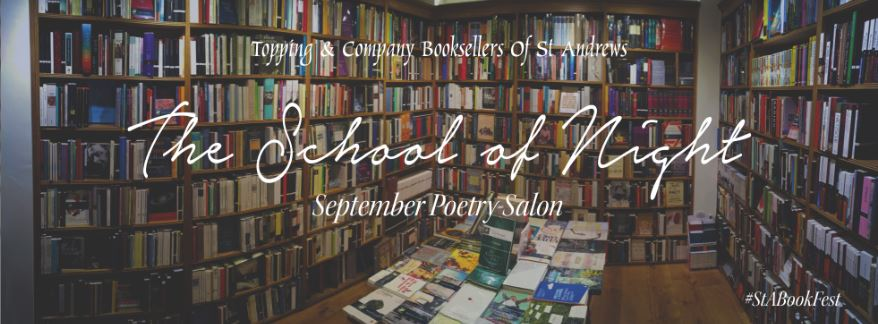 Image of School of Night : September's Poetry Salon with Peter Jarvis and Lindsay Macgregor
