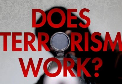 Image of Richard English with Does Terrorism Work?
